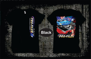 Pro-Filer All American Mustangs T-Shirt - Black