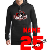 Knights Baseball Sport-Wick® Colorblock Hoodie with Sword Logo