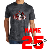 Knights Baseball CamoHex Performance TShirt with Sword Logo