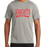 Knights Baseball New Era Performance T-Shirt with Tail Design
