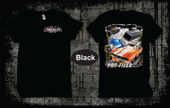 Pro-Filer Get Ripped T-Shirt - Black