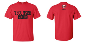 Tecumseh Arrows Ladies Soccer Tourney T-shirt - RED