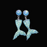 Mermaid Fashion Earrrings