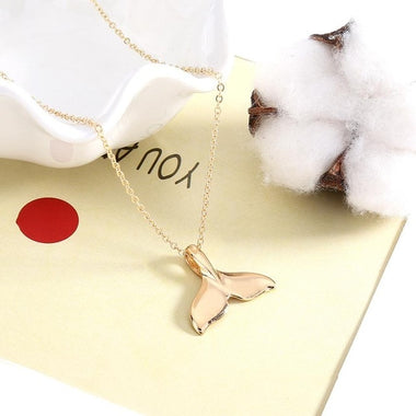 Shimmering Tail Pendant Necklace