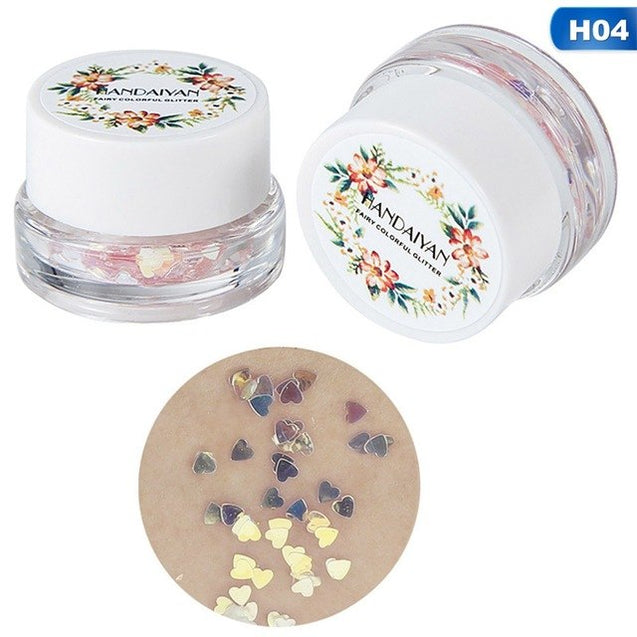 Glitter cream Highlighter