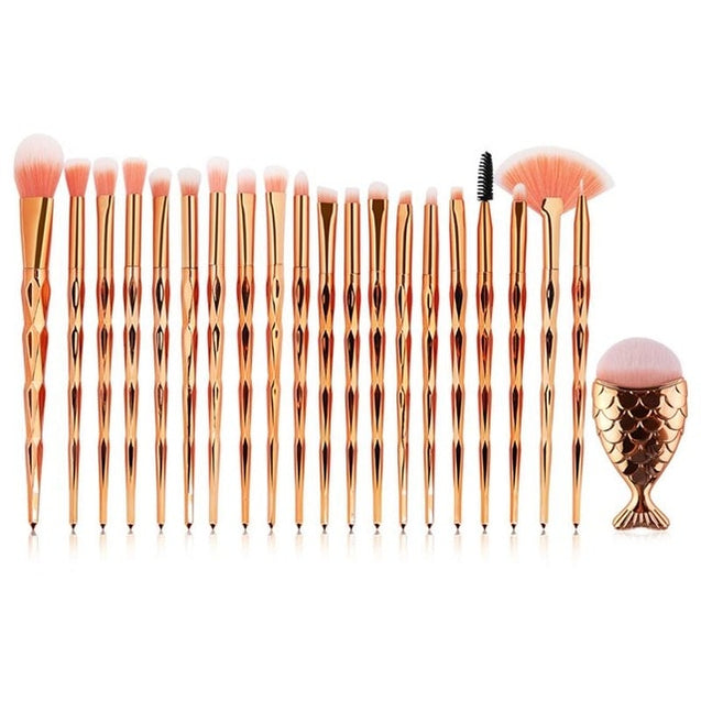 Eyeshadow Contour Face Cosmetic Brushes