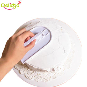 Plastic Cake Smoother Polisher Tools