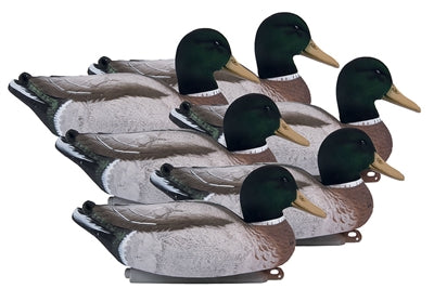 Higdon Magnum Mallard Foam Filled Flocked Heads All Drake Pac