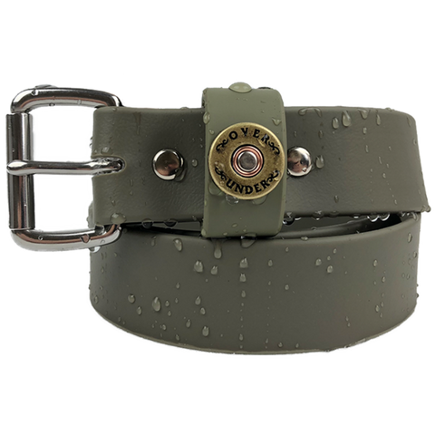 Over Under Waterproof Single Shot Belt Olive