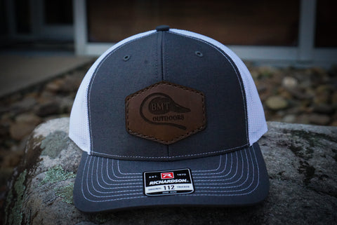BMT LEATHER PATCH HAT