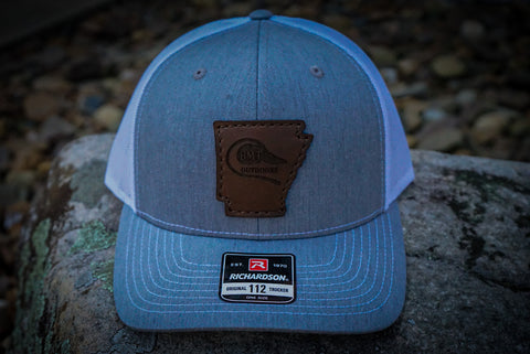 BMT LEATHER PATCH ARKANSAS HAT