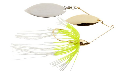 War Eagle Gold Spinnerbait Double Willow