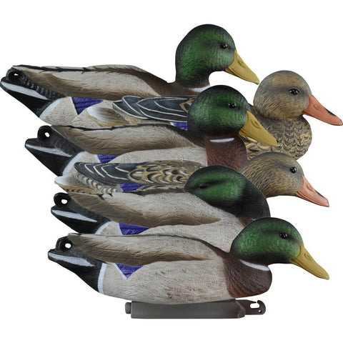 Higdon Full Size Foam Filled Mallard Duck Decoy 6 Pack