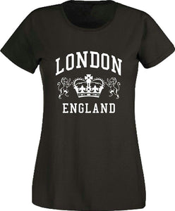 London Ladies Crown T Shirt