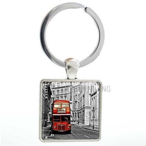 London Double Decker Keychain