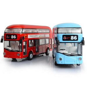 Alloy London Bus Double Decker Bus