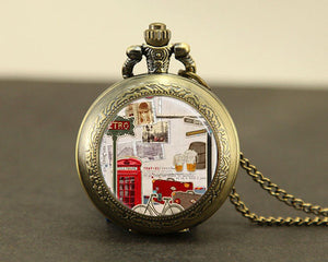 London Pendant Pocket Watch