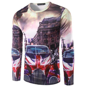 London Union Jack Shirt Long Sleeve