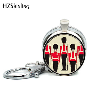 London Royal Guard London England Keychain
