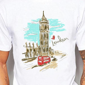London Colored Pencil Men's T Shirt *Options*