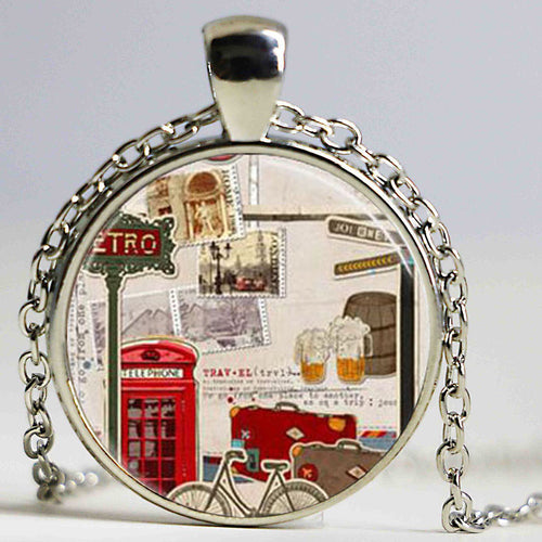 London Pendant Necklace/Cufflinks/Earrings/Brooch/Keychain