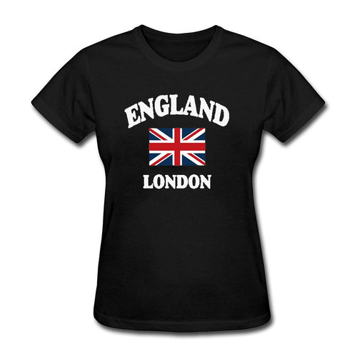 London Ladies Union Jack T Shirt