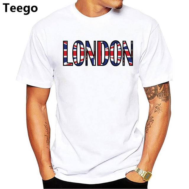 London Men's Union Jack T Shirt
