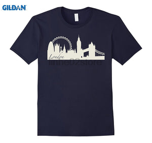 London Skyline Ladies' & Men's T Shirt (Both Styles Available)