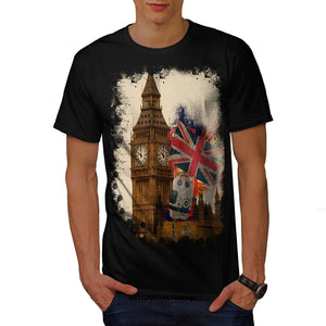 London Big Ben Union Jack T Shirt