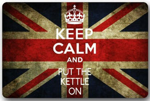 Union Jack Keep Calm Non-Slip Floor Mat