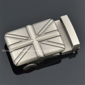 Union Jack Brand Belt Buckle