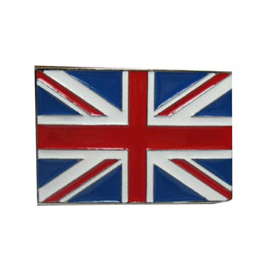 Union Jack Belt Buckle