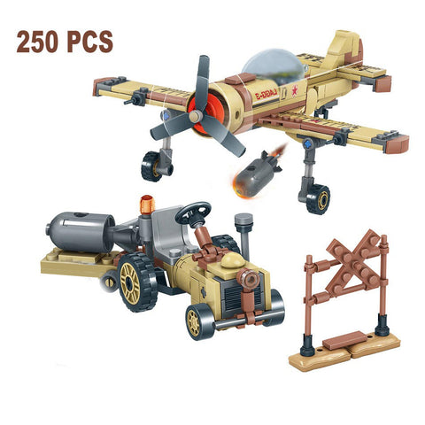 1035 PCS WW2 Military Vehicle Battle Collection Toys - Bluejay Goods