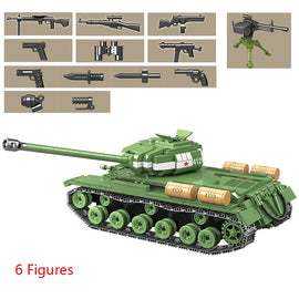 1068pcs Military IS-2M Heavy Tank - Bluejay Goods