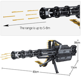 1422Pcs Military Gatling Guns Toys - Bluejay Goods