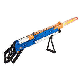4D DIY Rifle Assembly Puzzle Soldier Weapon Toy Gun - 506 Pieces - Bluejay Goods