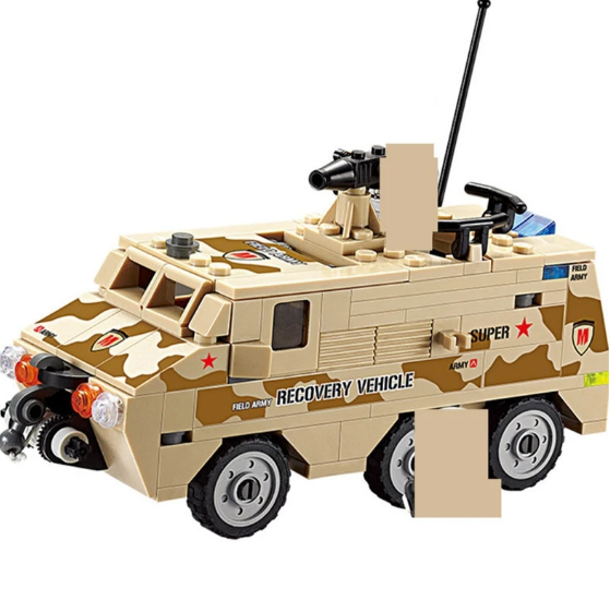 180Pcs Armored Personnel Car Sets - Bluejay Goods