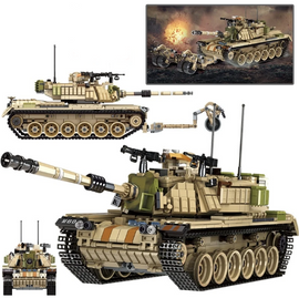 1753Pcs Large WW2 Army Tank Set - Bluejay Goods