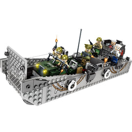 413pcs WW2 Army LCM3 Landing Ship Toy - Bluejay Goods