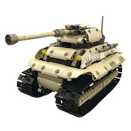 495PCS 1/16 Model 2.4G Radio Control Tiger Tank Toy - Bluejay Goods