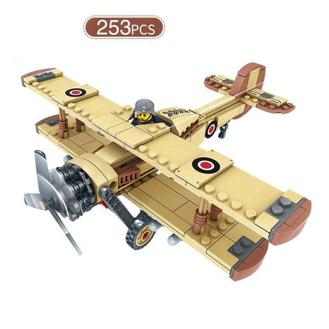 Airplane + Truck - WW2 Toy Set - Bluejay Goods