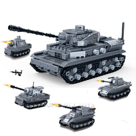 836Pcs WW2 Large Panzer Tank Toys - Bluejay Goods