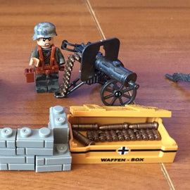 8PCS/Set WW2 Army Germany Soldiers with Weapons Set - Bluejay Goods