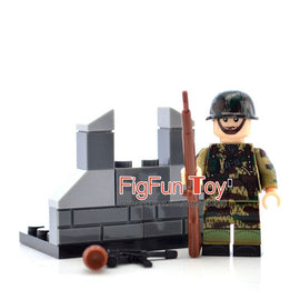 8pcs/set WW2 Military Germany Soldiers Figures - Bluejay Goods