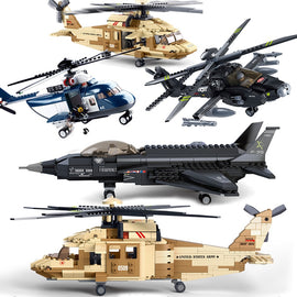 US Military Airplane Army Brick Set - Bluejay Goods