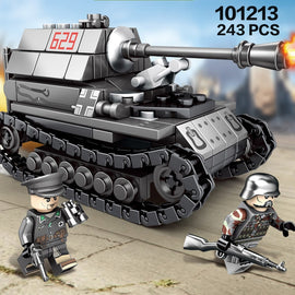 957 PCS 4In1 WW2 Germany Tank Toys - Bluejay Goods