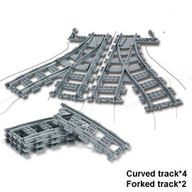 215pcs City Railway Freight Train Set - Bluejay Goods