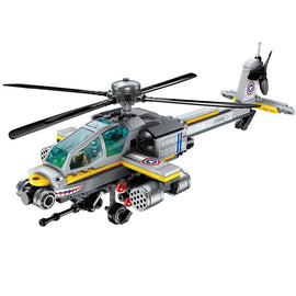 Army Military Helicopter Bricks Toys - Bluejay Goods