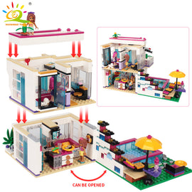 760PCS Livi's House Girl Camper Bricks Set - Bluejay Goods