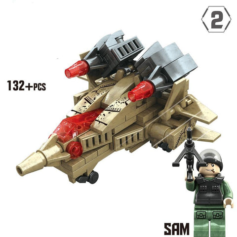 4 in 1 Army Robot Lego Compatible 510 Pieces - Bluejay Goods